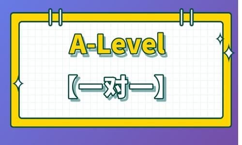寒假班 | A-Level【一对一】