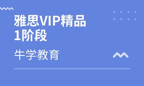 雅思VIP精品1阶段